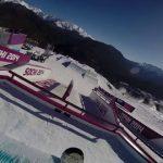 恐怖のソチ五輪スロープスタイルコースをライダー目線で体験してみる(動画)