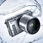ニコンが世界初の防水・耐衝撃ミラーレスカメラ Nikon 1 AW1を発売