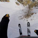 えー!そこ滑れるの?いっきに山を滑る超絶テクニックを本人目線で味わえる動画