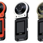 カシオから一風変わったアクションカメラ「EX-FR10」がリリース