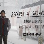 """早くもEpisode 4! """"Because of Snowboarding""""「Marco Feichtner」編公開(動画あり)"""