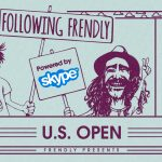 ダニー・デービス&ジャック・ミトラーニの「Following Frendly Powered By Skype Episode 2: US Open」