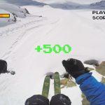 ファミコンのスキーゲーム風な動画「GoPro: 8-Bit Ski」