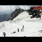世界初の大技出ました!「TRIO BACKFLIP on skis」