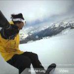 スノーボード中の体の動きを可視化するアクションカメラ「REC-1」が未来すぎる