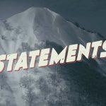 アンティ・アウティによるNEW WEBシリーズ 「Statements」ティザー