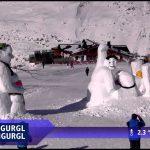 スキー場のライブカメラでやりたい放題「Funny ski resort webcam footage」