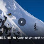 スキームービー「FADE TO WINTER」よりJames Heimの4Kボーナス映像公開