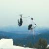【マジか?】クロスカントリースキーでジャンプやトリックをしながら逃げまくるムービー「One Of Those Nordic Days 2」
