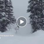 弱冠17歳にして世界レベルのスキーヤーParkin Costainの2016シーズンムービー