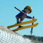 プレイモービルでレベル高すぎなスノーボード&フリースキーのバックカントリーライディングを再現