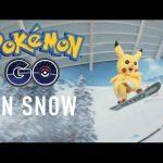 スキー場でリアルポケモンGO!ピカチュウのスノーボードがうますぎ!