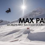 Max Parrotがまたしても世界初の大技「Double Backside Rodeo 1440」をメイク