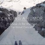 何もそんな岩間の細いところを滑らなくても!「Chasing a Rumor – Featured on Salomon TV」