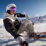 アラスカでカイトスキー「Kite Skiing with Damien Leroy」
