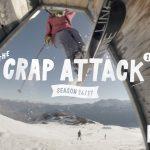 フリースキーヤーによるLAAXパークムービー「The Crap Attack 2017」